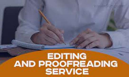 EDITING & PROOFREADING WRITING SERVICES image 1