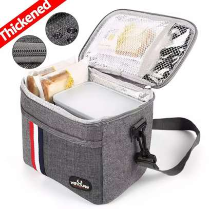 Insulated lunch box pack