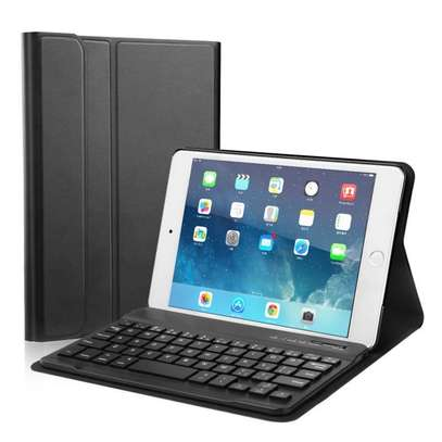 Detachable Smart Wireless bluetooth Keyboard Kickstand Tablet Case For iPad Air 3 10.5 inches image 1