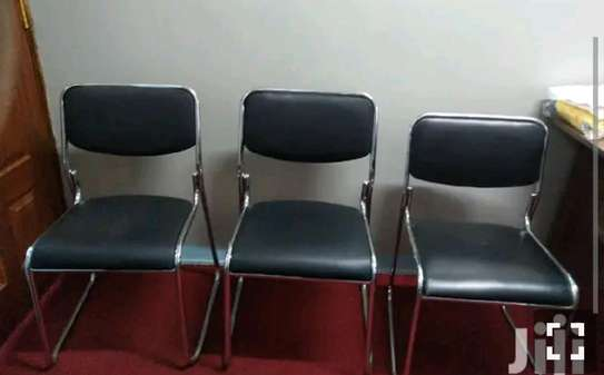 Antirust chrome office chair image 1