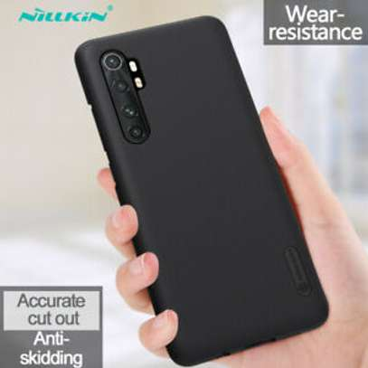 NILLKIN Super Frosted Shield Back Cover For Xiaomi Mi Note 10  lite image 3