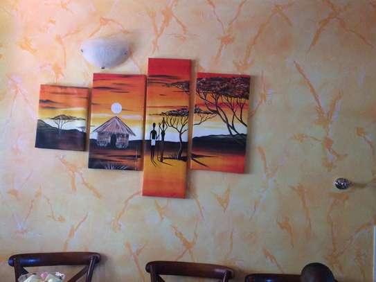 Sungura Art Painting Wall decor Painting On Canvas image 12