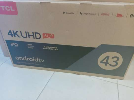 Tcl 43 android smart 4k tv
