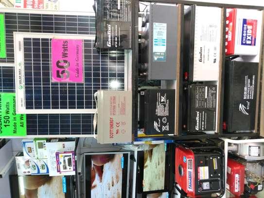 Dry cells solar battries 100ah and 200ah image 1