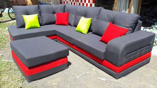 L Shaped Sofa (6 Seater) image 1