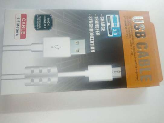 High Quality USB Android Cable (Fast Charge) image 1