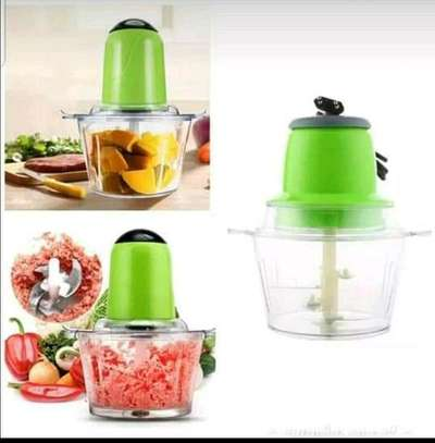 Multi~fuctional electric  vegetable chopper &meat mincer image 2
