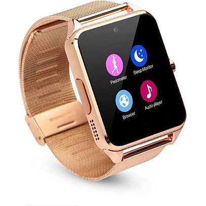 Bluetooth/Simcard Smartwatch with Stainless steel band. image 4