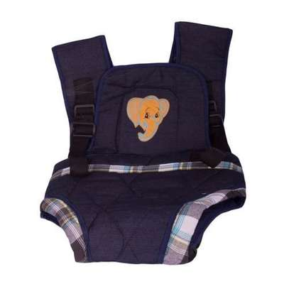 Two strap comfortable baby Carrier with extra padding- blue