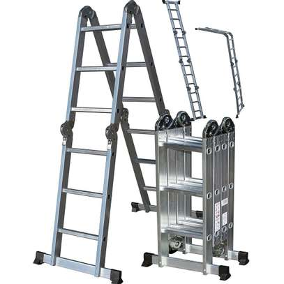 Folding ladder 4.8mts image 1
