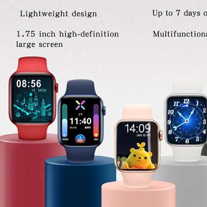 Smart Watch Year 2021 HW22 IWO Series 6 image 2