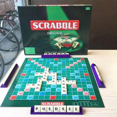 Scrabble Board Game image 1