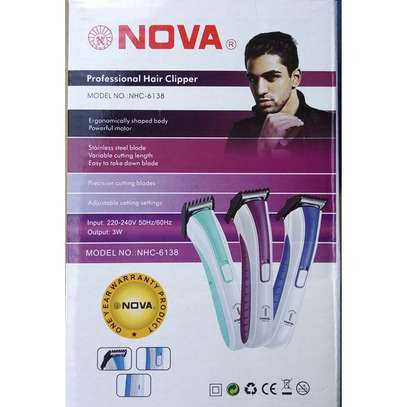 New Rechargeable Hair Shaver  - Varying Colour And Design image 1