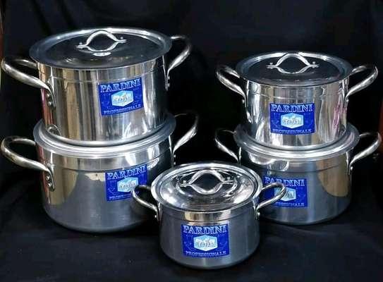 Pardini 5 pieces cooking pots image 1