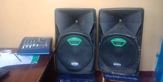 Affordable Public Address Sound System for hire image 2
