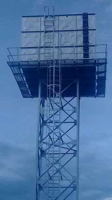 100,000l Steel Water Tank on 16m Water Tower image 5