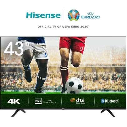 43 inch Hisense Smart Ultra HD 4K Frameless LED TV - 43B7100 - NetFlix, Youtube image 1