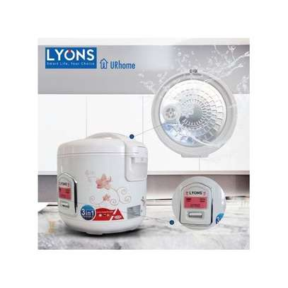 Lyons White (1.8L) Electric Rice Cooker image 2