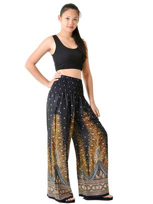 High waist harem pants image 1