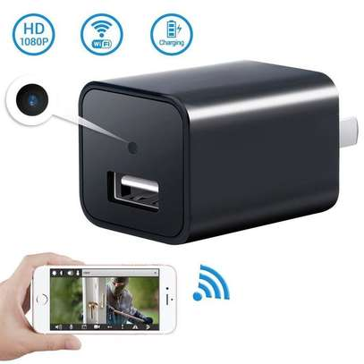 HD 1080P Mini Camera USB Phone Charger image 1