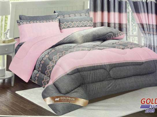 Woolen duvet with matching outfit image 2