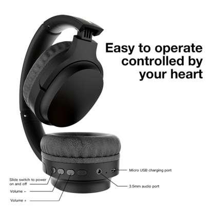 Moxom MX-WL06 Hi-Fi Super Real Stereo Gaming Bluetooth Headset 3.0 image 2