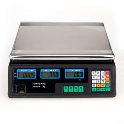 DIGITAL ACS 40 WEIGHING SCALE image 1