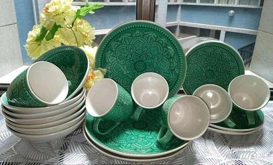 Ceramicdinner set.(24 piece set) image 1