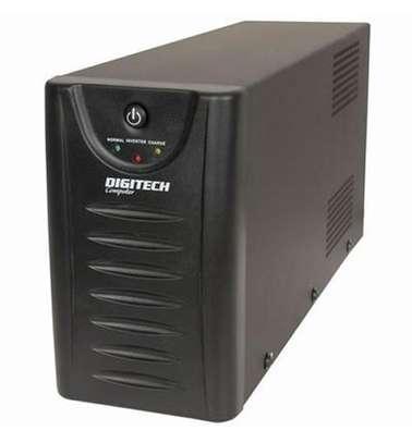 Digitek Back-Up UPS with Built-In AVR with wide input range - 650VA image 1