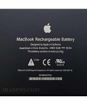 Original Apple Macbook A1181 A1185 Black battery image 3
