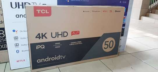 50 inch TCL 50P725 android frameless UHD 4k tv image 1