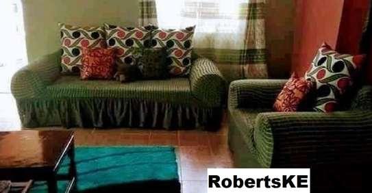 Turkish green sofa covers image 1