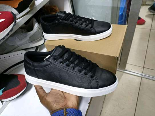 Black authentic unisex Sneakers image 2