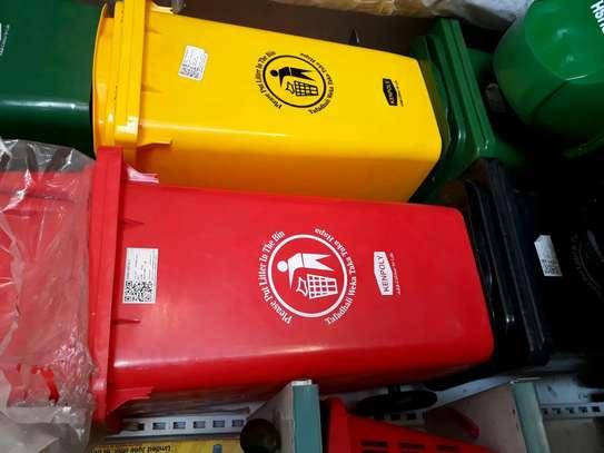 100litre dustbin/plastic dustbin/pedal dustbin/plastic pedal dustbin bin/sanitary dustbin image 1