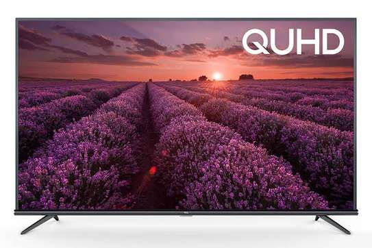 TCL 43 inches Q-LED Android Smart 4k Tvs +free TV guard image 1