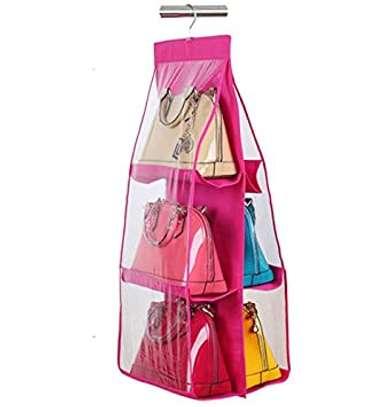 6 pocket handbag organiser image 4