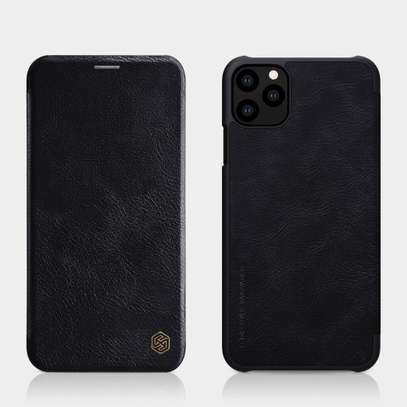 iPhone 11 Pro Max Nillkin Qin Series Leather Case image 1