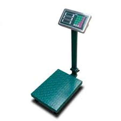 Heavy Duty Fordable Digital Floor Scale  150kg. image 1