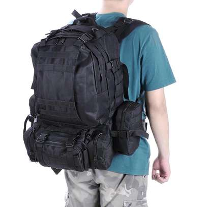 Military Bag 55L-Tactical Bag/Trekking/hiking/camping/Traveling bag image 14