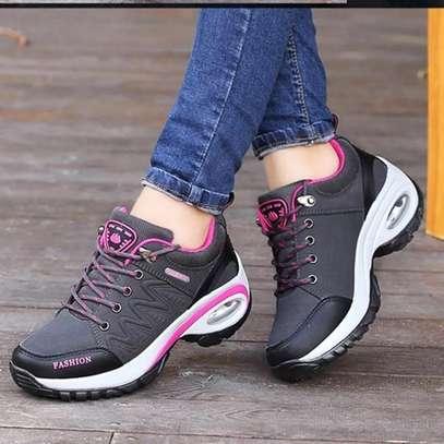 ladies fancy laced sneakers image 4