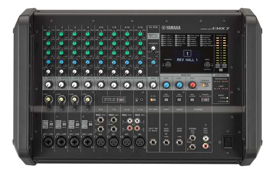 Yamaha powered mixer EMX7 image 1