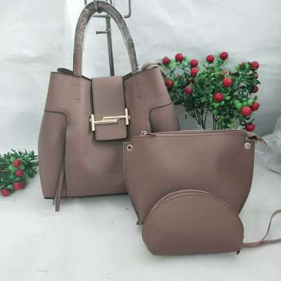3 in 1 Leather Handbags