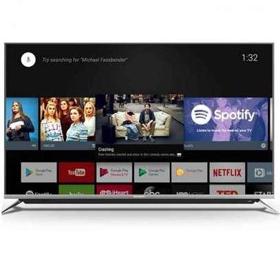 Skyworth Android Smart 65 inches Digital Frameless UHD-4K TVs image 1