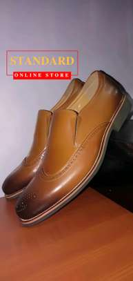 PURE ITALIAN LEATHER SHOES WITH RUBBER SOLE image 16