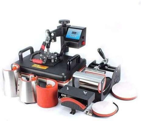 8 in 1 Combo Heat Press Machine Sublimation Printer For Mug/Cap/T shirt/ image 1