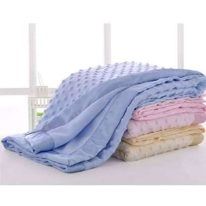 upper Soft, Large and Comfortable Baby Shawls / Receiving Blankets-pink image 1