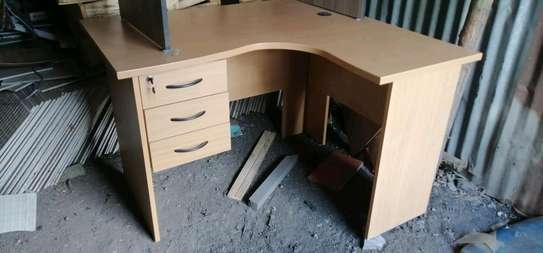 L -shaped  Office desks 5.5ft*4ft*2ft image 2