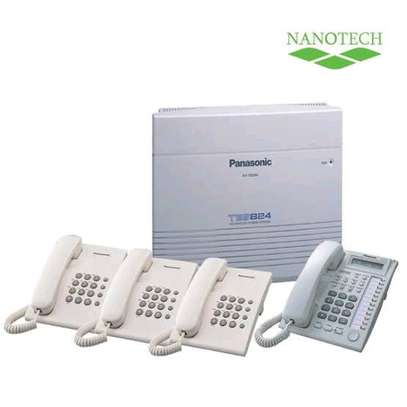 Panasonic office PABX telephone intercom systems supply and installation image 1