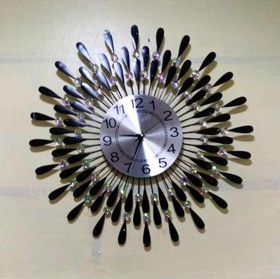 Unique modern wall clock image 1