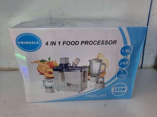 4 in 1 Food Processor image 3